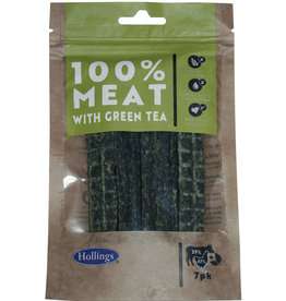 Hollings Meat & Green Tea Treat Bars for Dogs, 7 pack