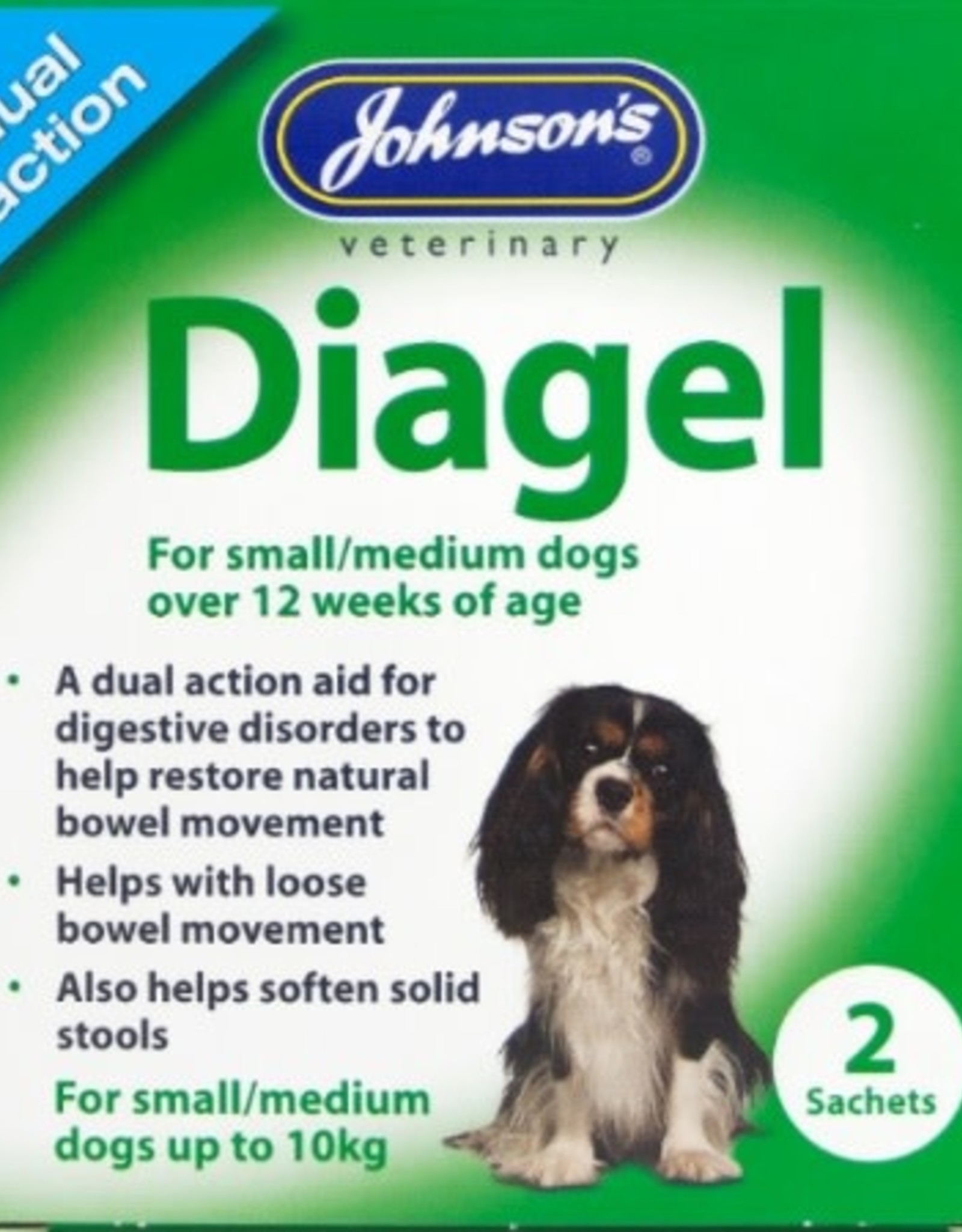 Johnsons Diagel Dual Action for Dogs