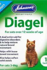 Johnsons Diagel Dual Action for Cats 1 Sachet