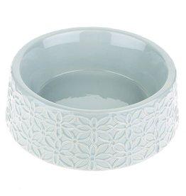 Happy Pet Flora Pet Bowl in Grey