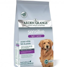 Arden Grange Sensitive Light & Senior Ocean White Fish & Potato Dog Food