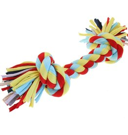Happy Pet Twist-Tee 2 Knot Tugger Dog Toy