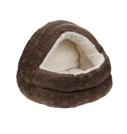 Happy Pet Cave Cat Bed, Chocolate