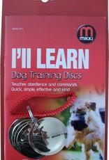 Mikki Dog Training Discs with Manual
