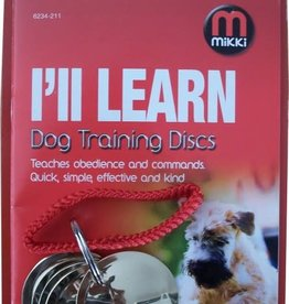 Mikki Dog Training Discs with Manual
