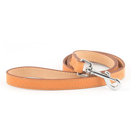 Ancol Heritage Leather Diamond Dog Lead 1m x 19mm, Tan