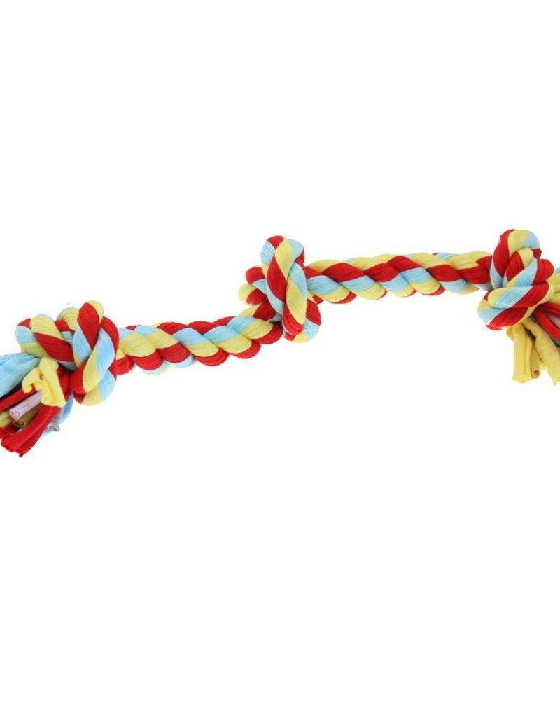 Happy Pet Twist-Tee 3 Knot Tugger Dog Toy