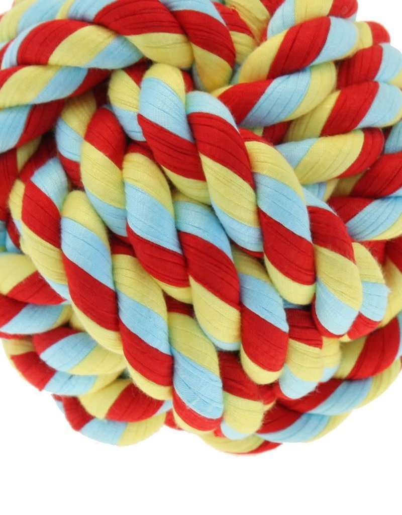 Happy Pet Twist-Tee Ball Dog Toy