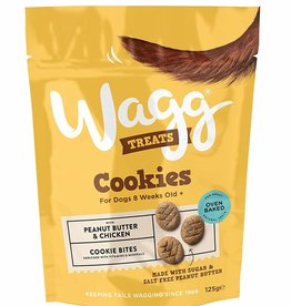 Wagg Dog Treats Cookies with Peanut Butter and Banana