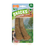 Nylabone Snacks Venison Flavour Antler Dog Treat, Medium x 2