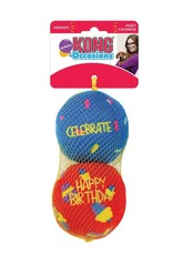 KONG Occasions Birthday Balls Dog Toy Medium, 2 pack