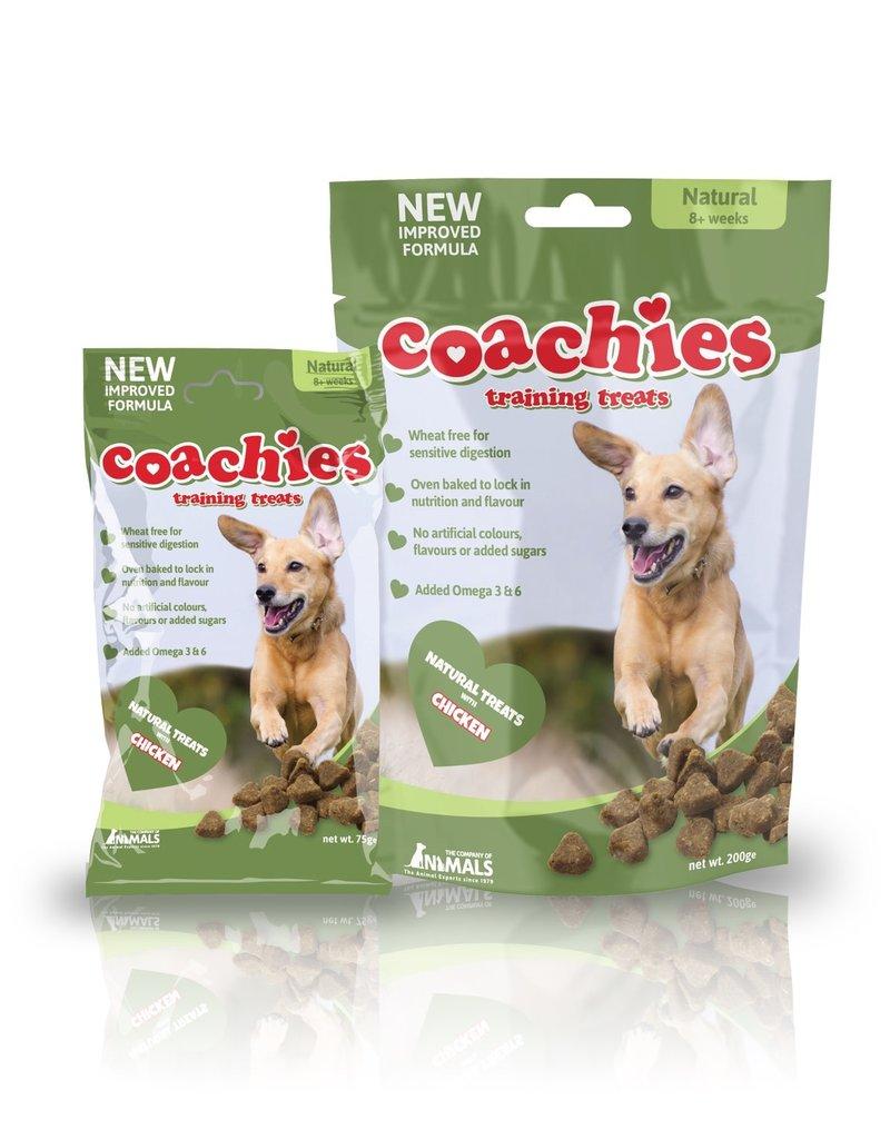 Company of Animals Coachies Natural Dog Training Treats 75g
