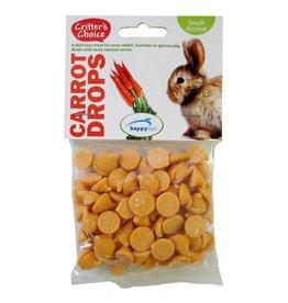 Happy Pet Critter's Choice Small Animal Treats Carrot Drops, 75g