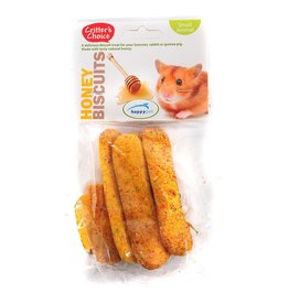 Happy Pet Critter's Choice Small Animal Honey Biscuits 50g