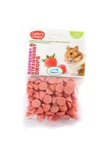 Happy Pet Critter's Choice Small Animal Treats Raspberry & Strawberry Drops, 75g