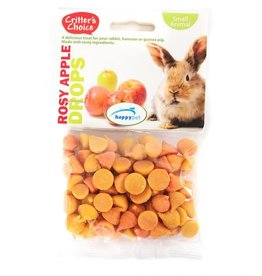Happy Pet Critter's Choice Small Animal Rosey Apple Drops 75g