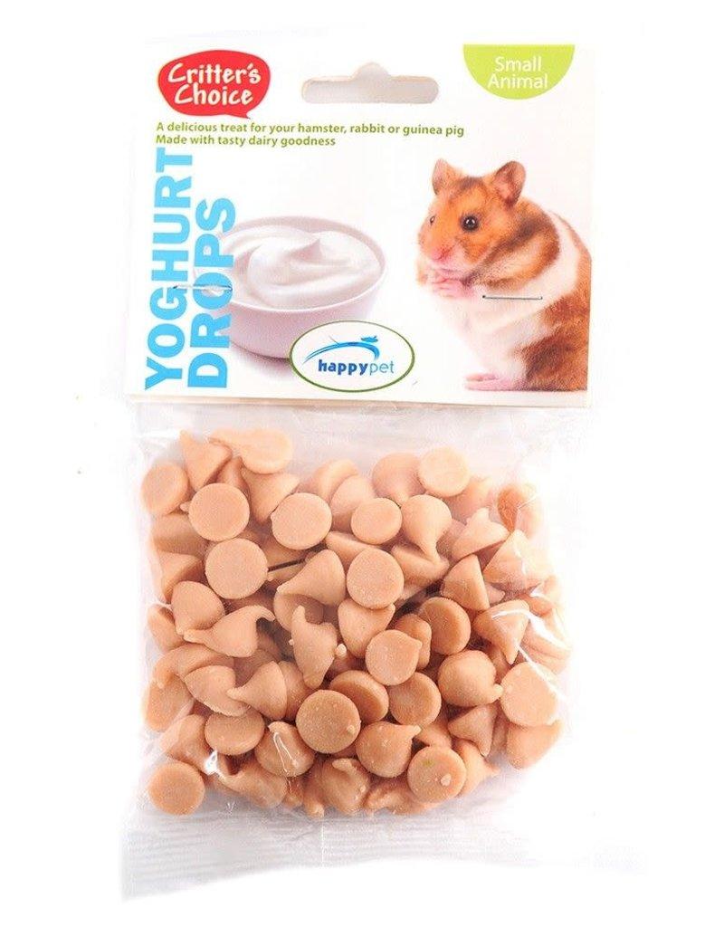 Happy Pet Critter's Choice Small Animal Yoghurt Drops 75g
