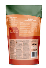 natures menu Country Hunter Superfood Crunch Adult Dog Dry Food Chicken with Butternut Squash, 1.2kg
