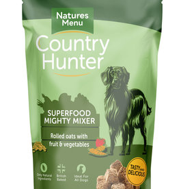natures menu Country Hunter Superfood Crunch Mighty Mixer Dog Food 1.2kg
