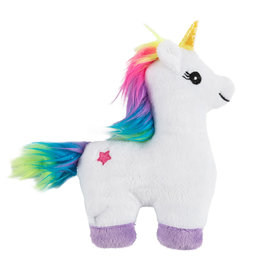 Ancol Small Bite Unicorn Plush Toy for Puppies and Small Dogs 18cm