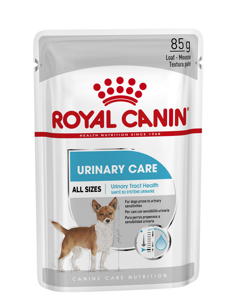 Royal Canin Urinary Loaf Wet Pouch Dog Food, Box of 12