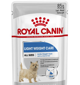 Royal Canin Light Weight Care Loaf Wet Pouch Dog Food, Box of 12