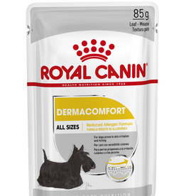 Royal Canin Dermacomfort Loaf Wet Pouch Dog Food, Box of 12