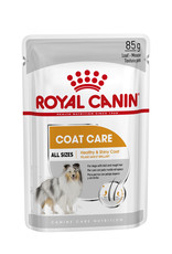 Royal Canin Coat Loaf Adult Dog Wet Food Pouch, 85g, box of 12