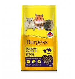 Burgess Hamster, Gerbil & Mouse Complete Food, 750g