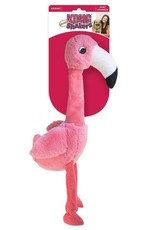 KONG Shakers Honkers Flamingo Dog Toy, Small