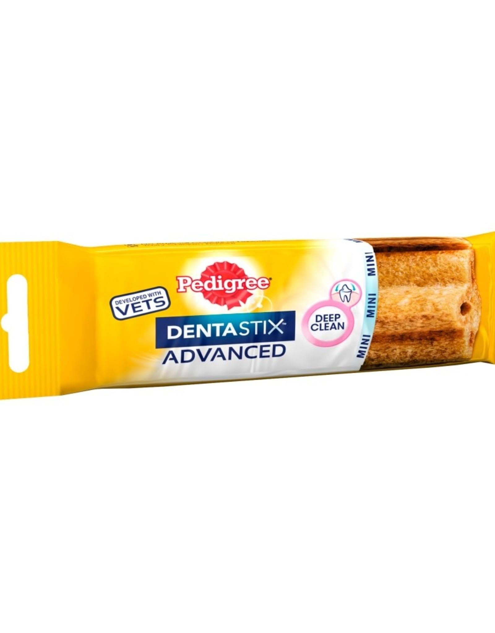 Pedigree Dentastix Advanced Low Fat Mini Small and Medium Dog Dental Treat with Chicken, 40g