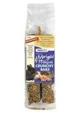 Mr Johnsons Marigold and Hibiscus Crunchy Bar for Small Animals Twin Pack 140g