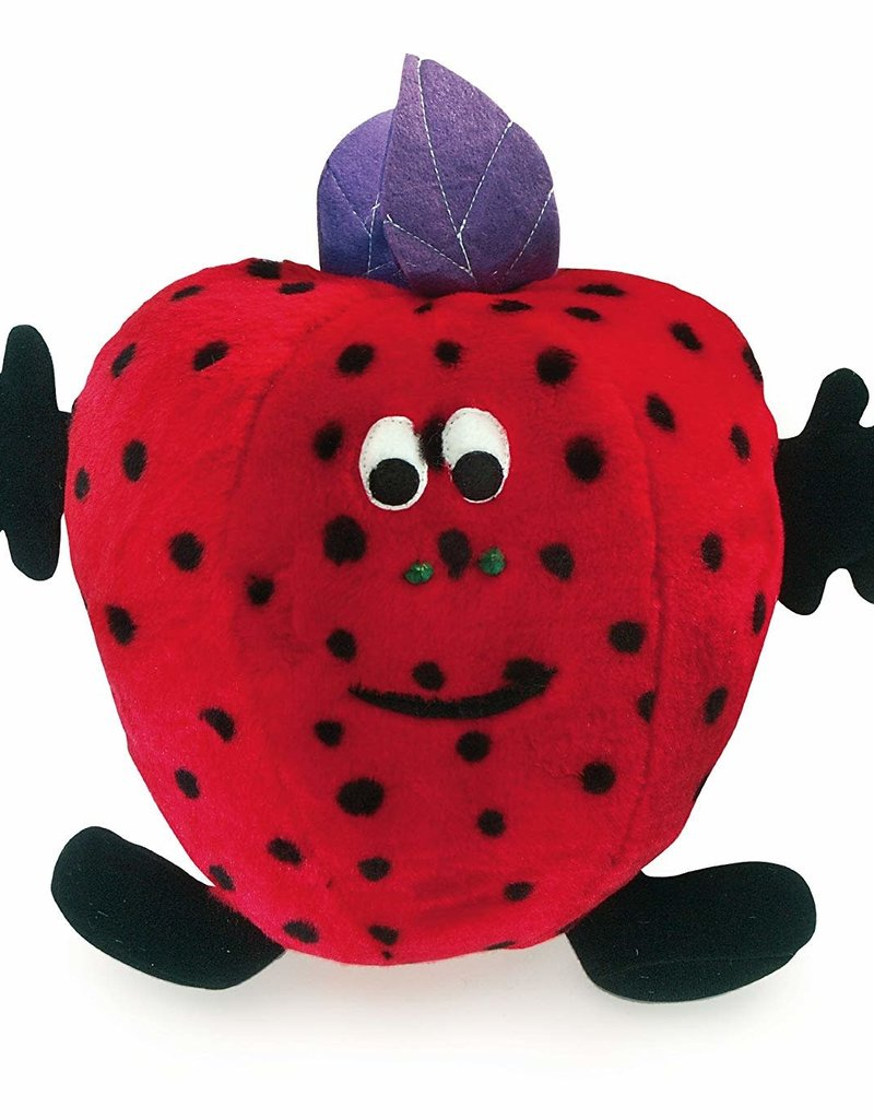 Fruit Salad Suzie Strawberry Soft Dog Toy
