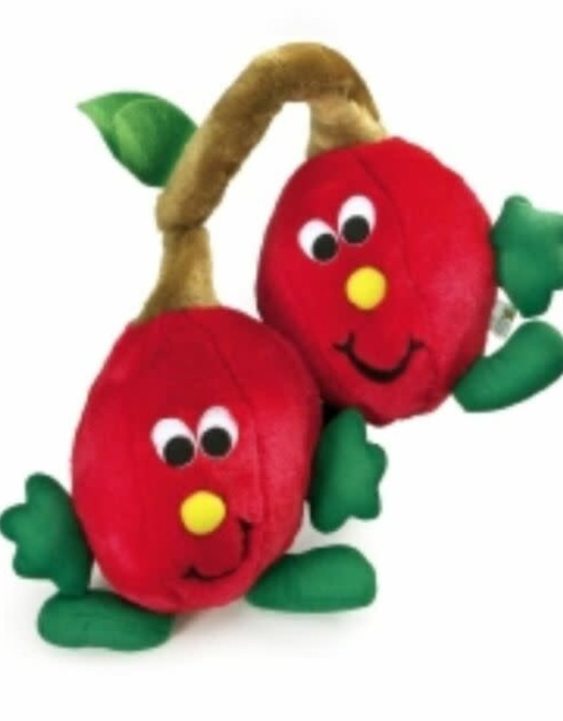 Fruit Salad Twin Cherries Dog Toy