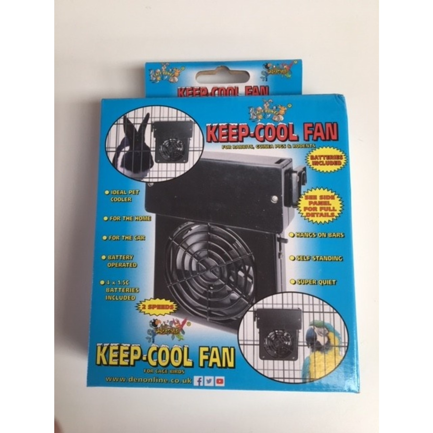 Pet Shop Cooling Fan for Dog Crates or Hutches