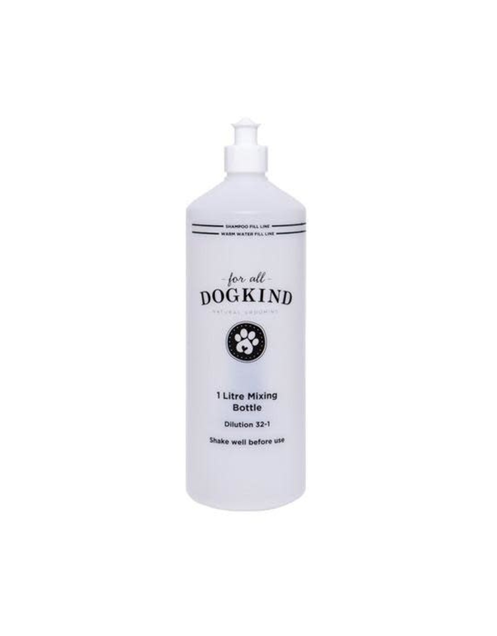 For All DogKind 1 Litre Shampoo Mixing Bottle