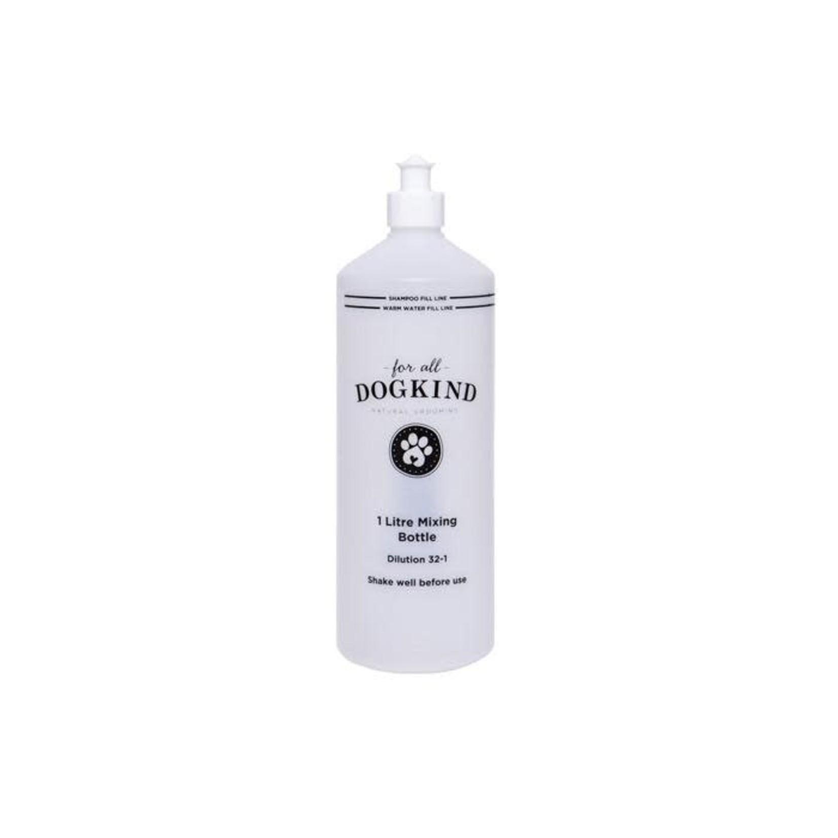 For All DogKind 1 Litre Shampoo Mixing Bottle