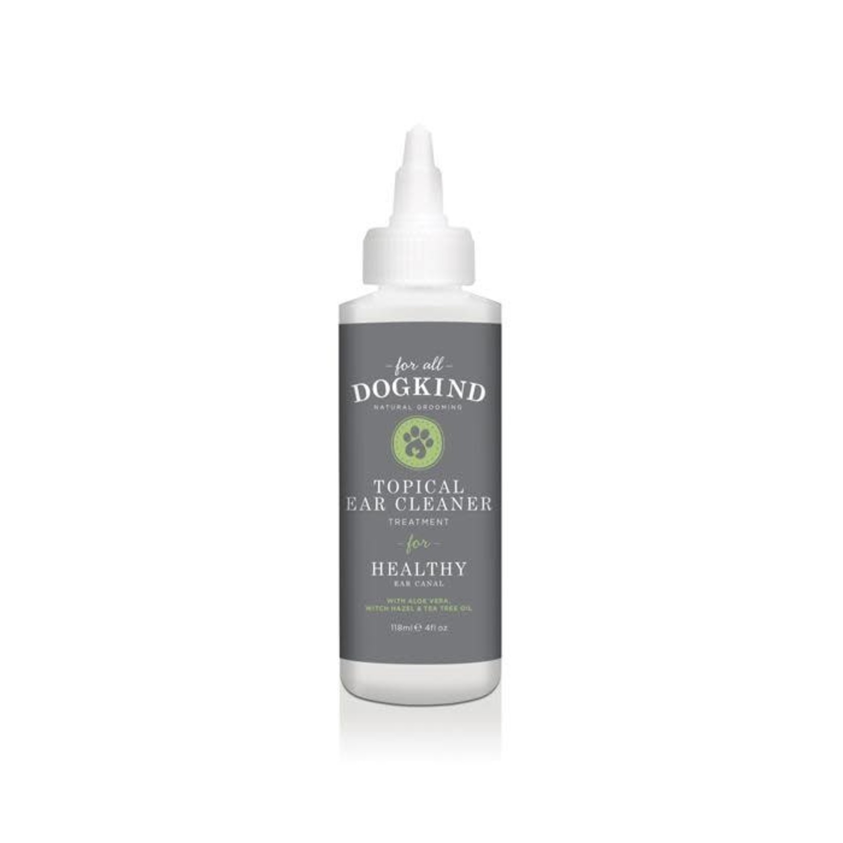 For All DogKind Topical Dog Ear Cleaner for Healthy Ear Canal, 118ml