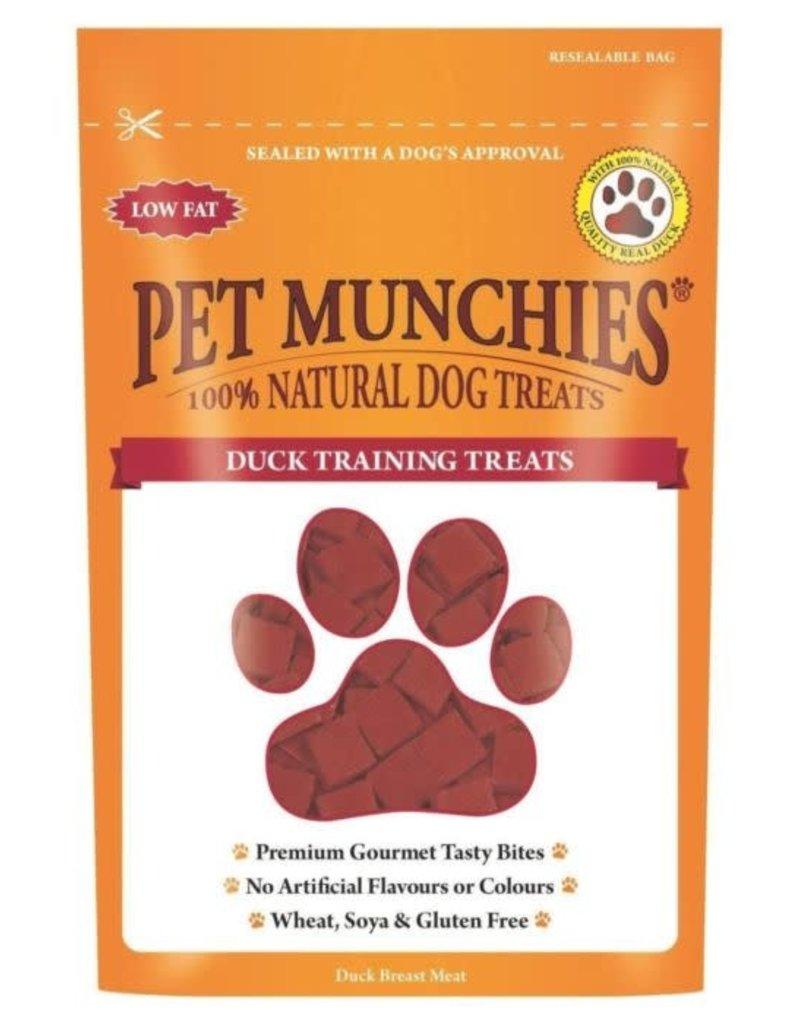 Pet Munchies 100% Natural Training Dog Treats, Duck 50g