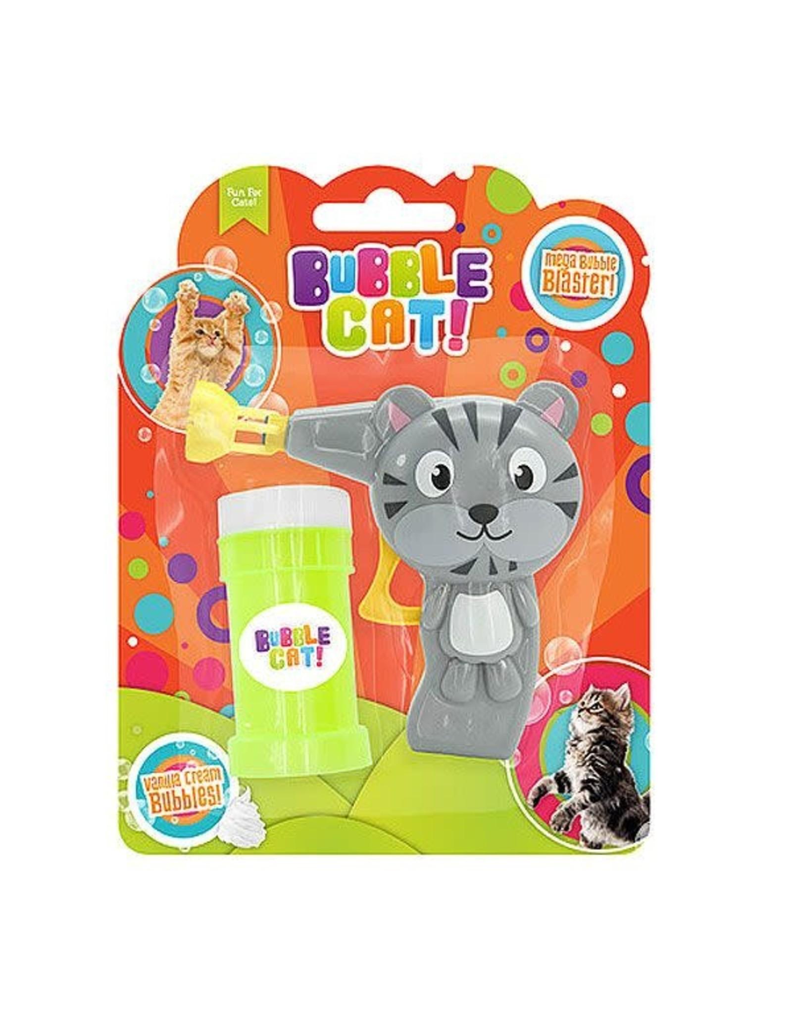 Bubble Cat Manual Bubble Gun, Vanilla