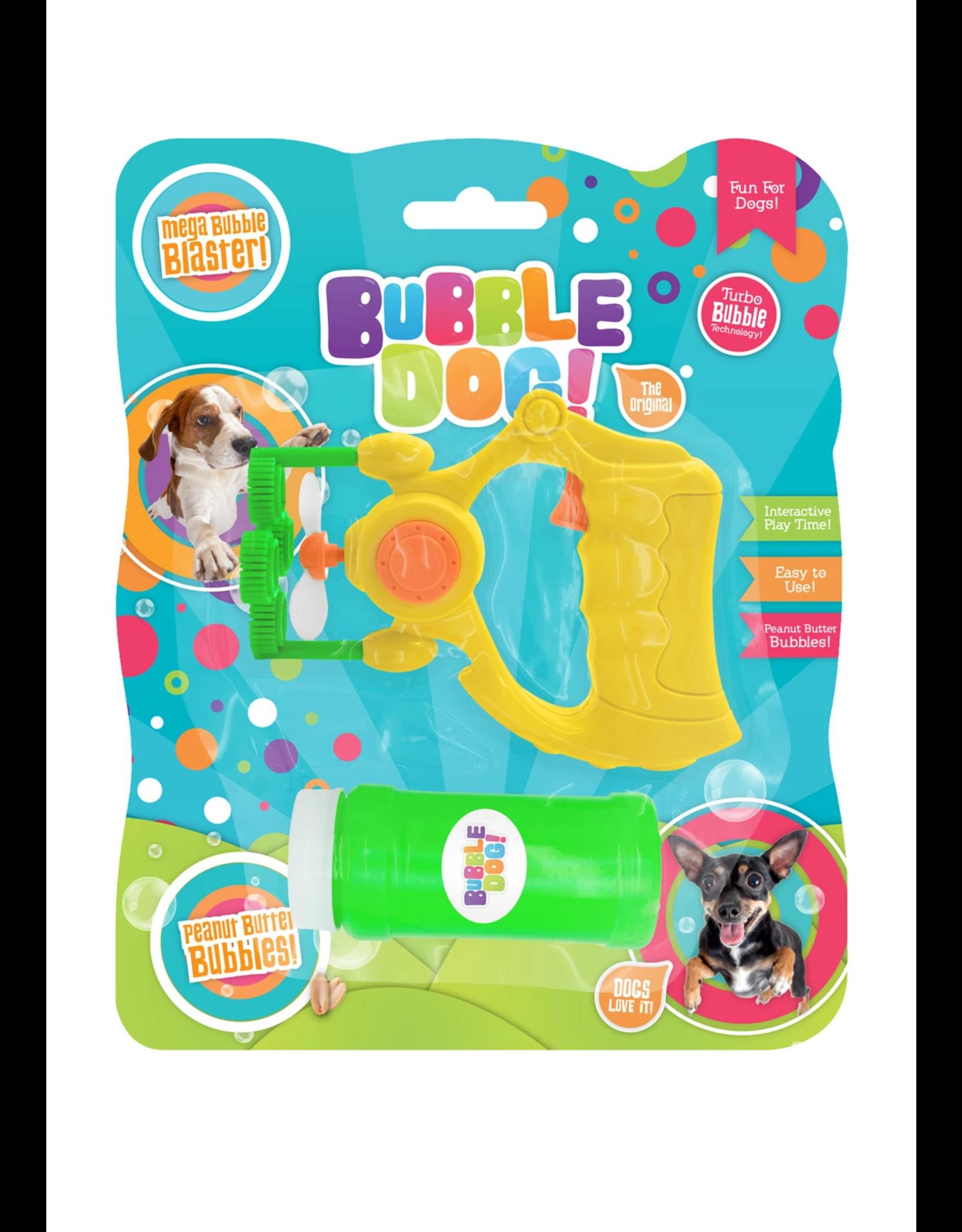 Bubble Dog Electric Bubble Gun, Peanut Butter