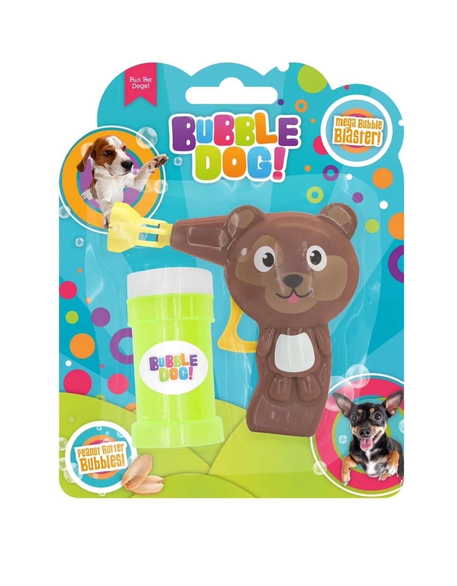 Bubble Dog Manual Bubble Gun, Peanut Butter