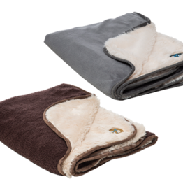 Gor Pets Nordic Double Sided Cat & Dog Blanket, Grey