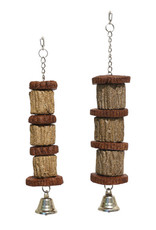 Rosewood Edible Activity Hide 'n' Treat Chain Bird Toy, Small