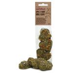 Rosewood Naturals Apple & Pansy Nibble Hearts Small Animal Treats, 6 pack