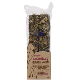 Rosewood Naturals Small Animal Treats, Cornflower & Daisy Sticks 140g