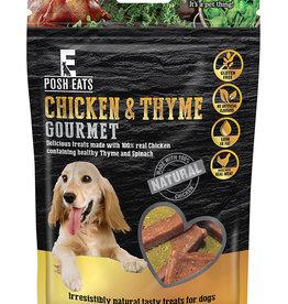 Rosewood Posh Eats Natural Chicken & Thyme Gourmet Dog Treats, 80g