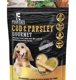 Rosewood Posh Eats Natural Cod & Parsley Gourmet Dog Treats 80g