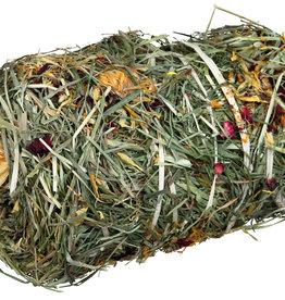 Trixie Hay Bale with Flower Mix 10 x 18cm 200g