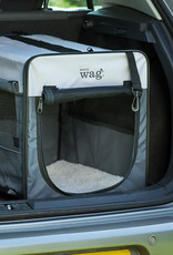 Henry Wag Folding Fabric Pet Travel Crate, Small 46x38x41cm